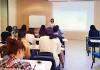 国際漢語教師を目指して学ぶ受講者ら