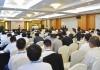 前川晃廣総経理の講義を熱心に聞き入る参加者