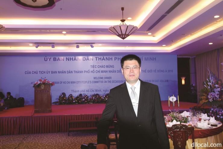 中国国際貿易促進委員会大連市分会 副会長 孫 連運さん sun lianyun