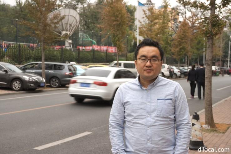 大連テレビ局 編集兼制作監督 映画監督 張 偉さん Zhang Wei