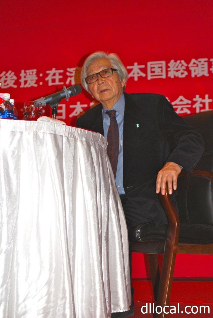 大連の思い出や映画づくりを語る山田洋次さん