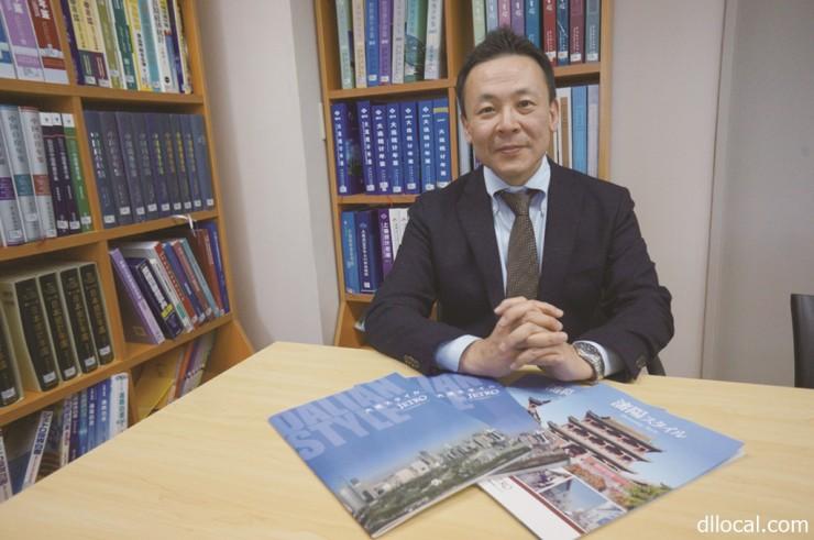 日本貿易振興機構(ジェトロ)大連事務所 所長、首席代表 安藤 勇生(Ando Isao)さん