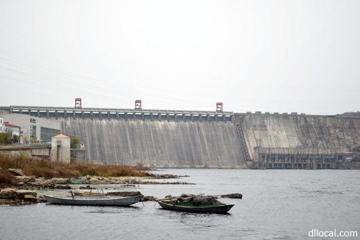 満州時代に作られた水豊ダム