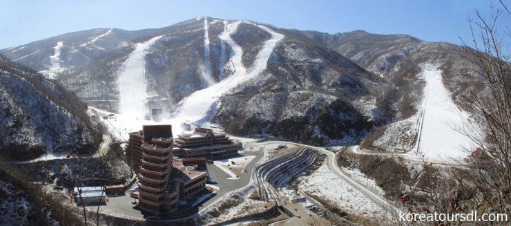 2020年1月14日発4泊5日北朝鮮・馬息嶺スキーツアー(21万8千円~・往復北京空路)