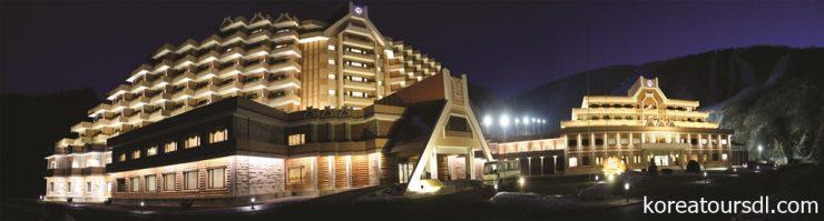 北朝鮮・馬息嶺ホテル