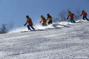 朝鮮東部・馬息嶺スキー場